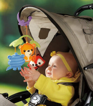 Fisher-Price musical crib mobile: baby stroller mobile