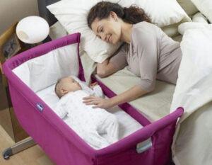 benefits of co-sleeping with baby: co-sleeper