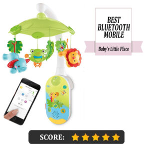 5 Best baby mobiles with remote control: Fisher-Price Smar Connect 2-in-1 projection mobile
