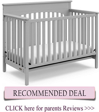 Best Graco crib - Lauren 4-in-1 convertible crib