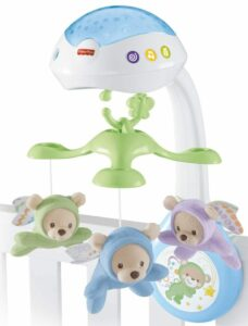 Best baby mobile with remote control: Fisher-Price Butterfly Dreams 3-in-1 Projection Mobile