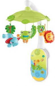 Best baby mobile with remote control: Fisher-Price Smar Connect 2-in-1 projection mobile