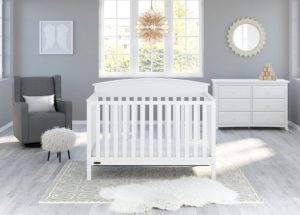 Graco Benton 5-in-1 convertible crib white