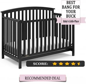 Graco Freeport 4 1 convertible crib Review