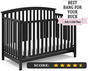 Graco Freeport 4-in-1 Convertible Crib REVIEW