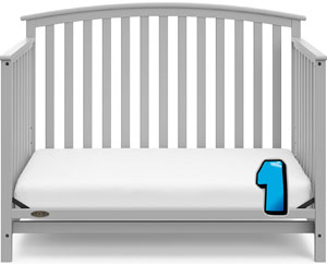 Graco Freeport Convertible Crib REVIEW - toddler bed