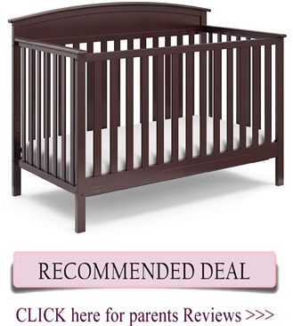 Best Graco crib Reviews - Benton 5-in-1 convertible crib