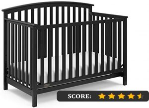 Graco crib reviews: Freeport 4-in-1 convertible crib