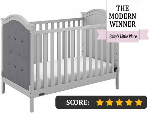Graco crib reviews: Linden Tufted 3-in-1 Convertible Crib