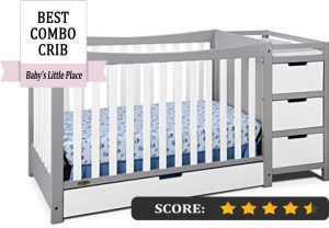 Graco crib reviews: Remi 4-in-1 convertible crib and changer with under-crib drawer