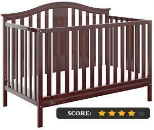 Graco crib reviews: Solano 4-in-1 convertible crib