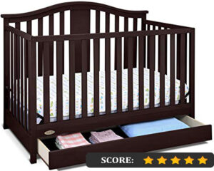 Graco crib reviews: Solano 4-in-1 convertible crib with drawer