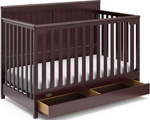 Best Graco crib - Hadley convertible crib
