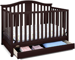 Best Graco crib - Solano convertible crib with drawer