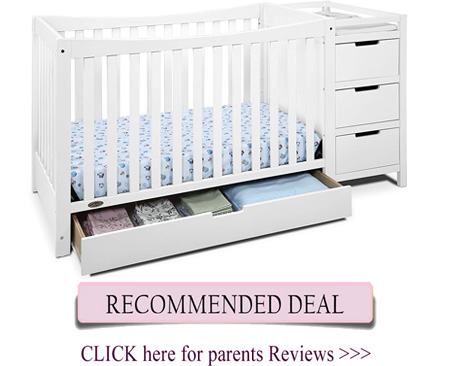 Best Graco crib - Remi convertible crib with changer