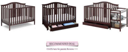 Best Graco crib - Solano convertible crib