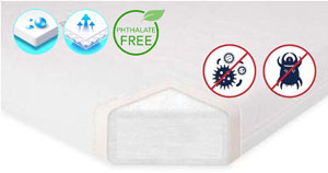 Babyletto Pure Core Non-Toxic Mini Crib Mattress