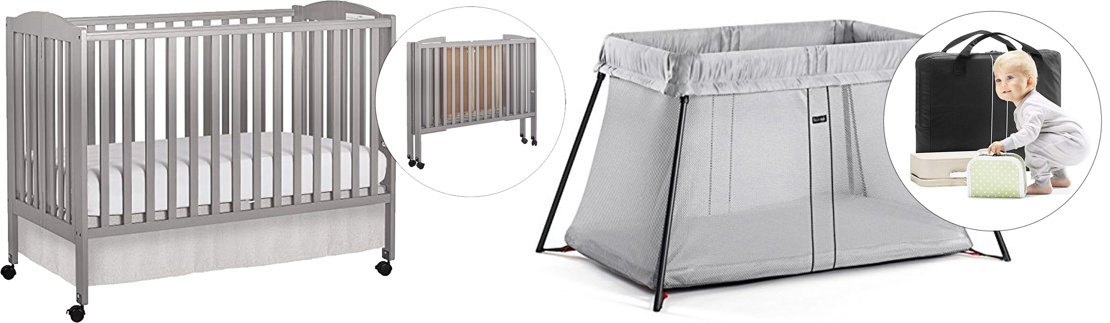Bast Rated Portable Cribs Baby S Little Place