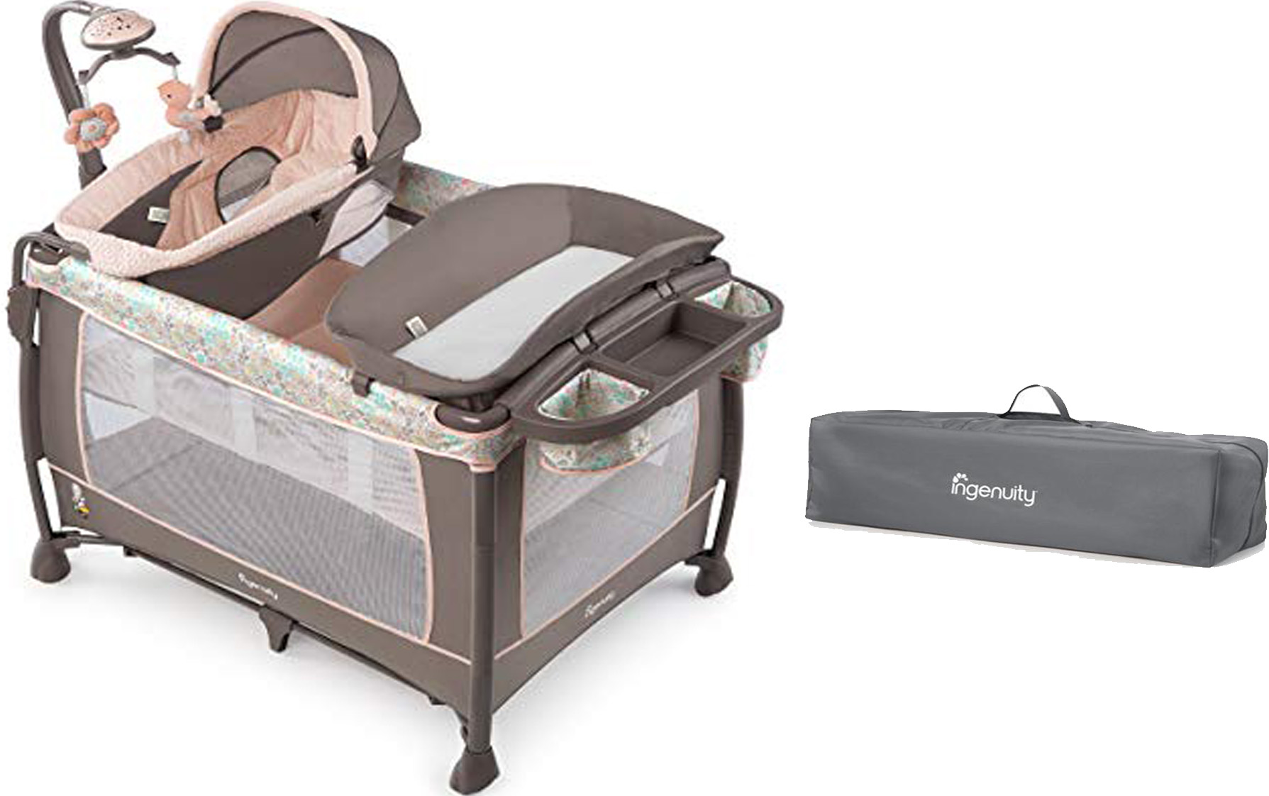 Best-portable-travel-cribs-Ingenuity-Smart-and-Simple ...