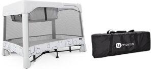 Best travel cribs: 4moms Breeze Classic Portable Playard