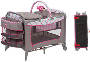 Best travel portable cribs: Disney Sweet Wonder Playard