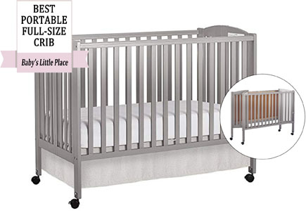 Dream On Me full-size folding crib Review