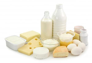 Dairy products in pregnancy diet for first trimester