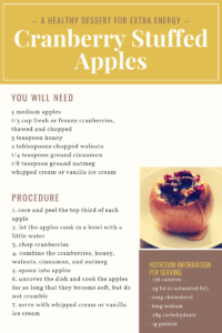 Healthy recipe for sweets pregnancy