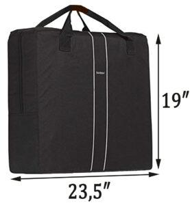 Baby Bjorn travel crib light carrying bag review