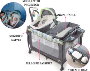 Ingenuity Smart and Simple Deluxe Playard Vesper Review