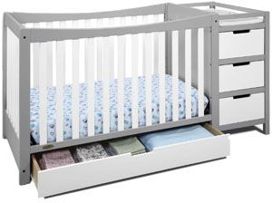 Best convertible crib with changing table: Graco Remi 4-in-1 Convertible Crib and Changer