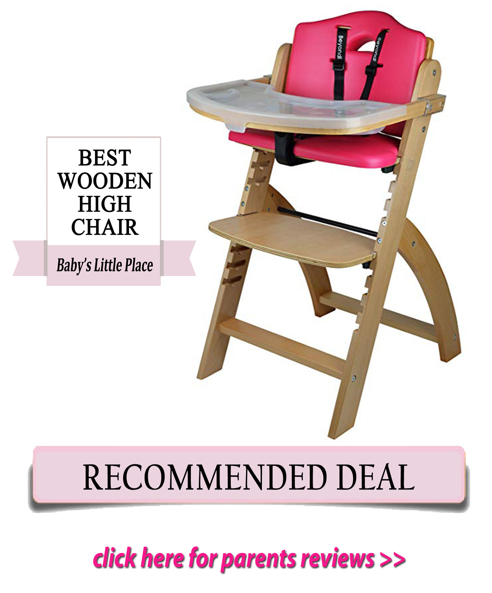 Abiie Beyond Wooden High Chair Review Babys Little Place