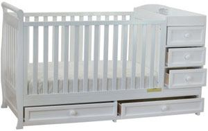 Athena Daphne Convertible Crib and Changer