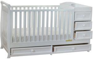 Athena Daphne Convertible Crib and Changer