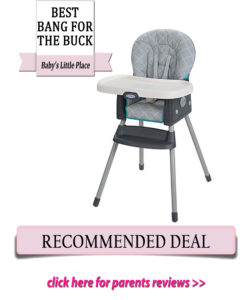 Graco Simple Switch high chair Review
