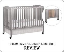 Dream On Me full-size folding crib review