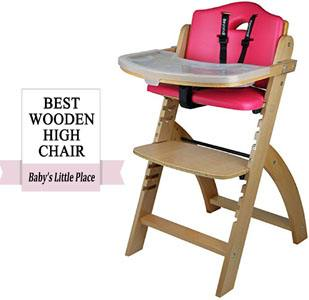 Best high chairs for babies - Abiie Beyond wooden high chair Review