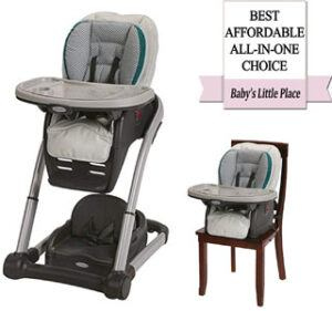 Best high chairs for babies - Graco Blossom 6-in-1 convertible high chair seating system Review