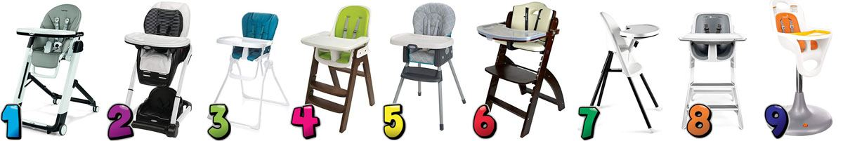 Best high chairs for babies with Reviews