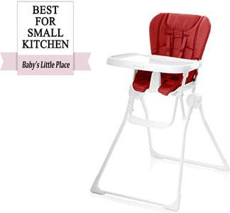 Best high chairs for small kitchens - Joovy Nook high chair review