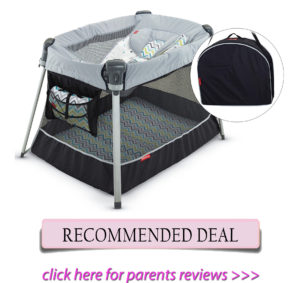Best travel cribs: Fisher-Price Ultra-Lite Day and Night Play Yard