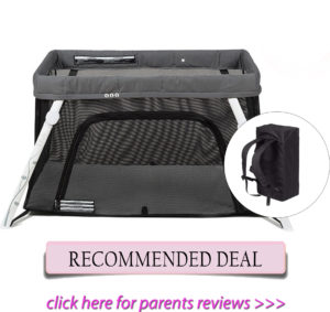Best travel cribs: Lotus travel crib and Portable Playard