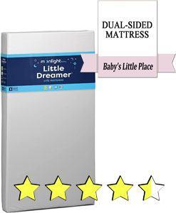 Moonlight Slumber Little Dreamer crib mattress review