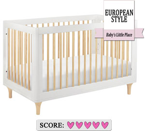 The best baby crib to buy for short moms - Babyletto Lolly