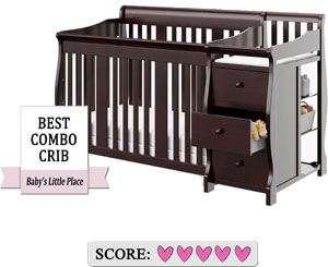 The best baby crib with changer - Storkcraft Portofino