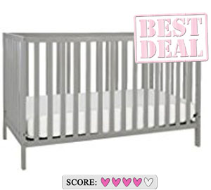 The best cheap baby crib - Union 3-in-1 convertible crib