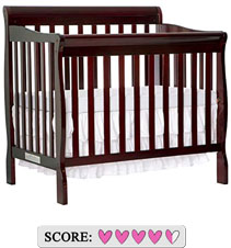 The best mini baby crib - Dream On Me Aden mini convertible crib