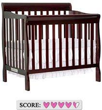 The best mini baby crib - Dream On Me Aden mini convertible crib