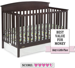 The best value for the price - Graco Benton convertible baby crib