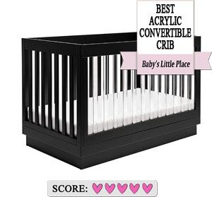 The best baby cribs to buy: Babyletto Harlow Acrylic Crib